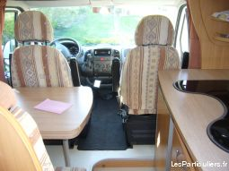 Camping car chausson