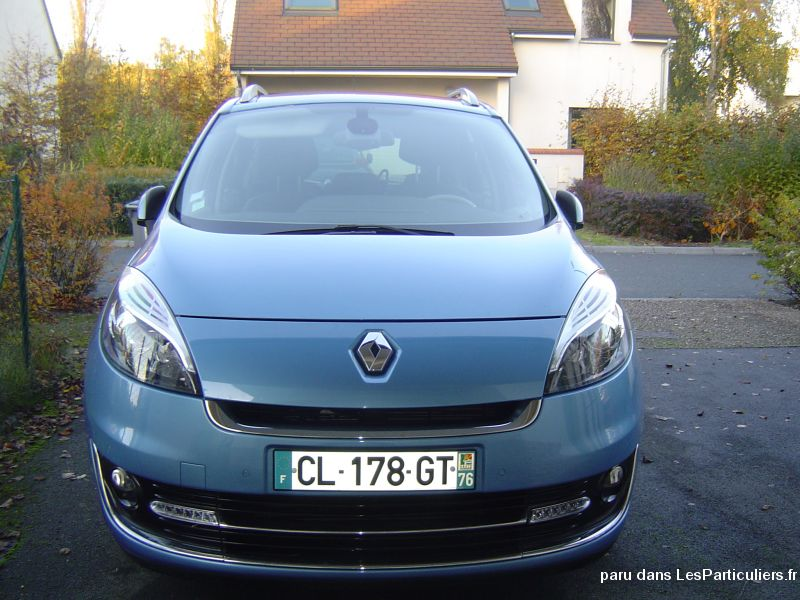 renault grand scenic iii (3) 1. 6 dci 130 energy vehicules voitures seine-maritime