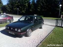 golf gti speciale mk 2 vehicules voitures haute-marne