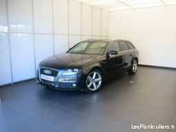 audi a4 avant s line 2.0 tdi 88 (120)  vehicules voitures bas-rhin