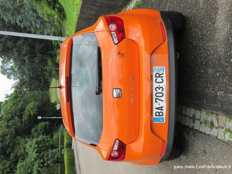 seat ibiza coupé sport vehicules voitures bas-rhin