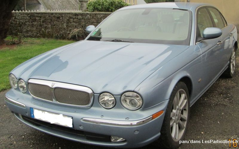 jaguar xj 2.7 tdvi bi-turbo sovereign bva vehicules voitures mayenne