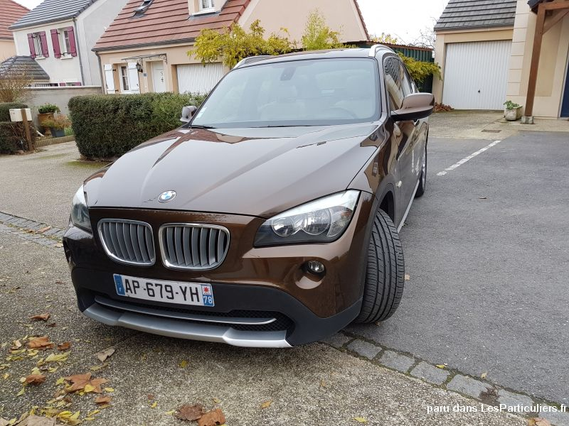 bmw x1 xdrive 23d 204cv luxe bva6 vehicules voitures val-d'oise