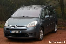 citroën grand c4 picasso 1.6 hdi110 fap pack bmp6  vehicules voitures sarthe