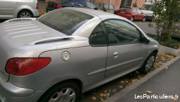 Peugeot Coupé 206cc quicksylver
