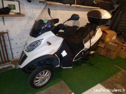 piaggio mp3 500 lt business blanc perle vehicules scooters val-d'oise