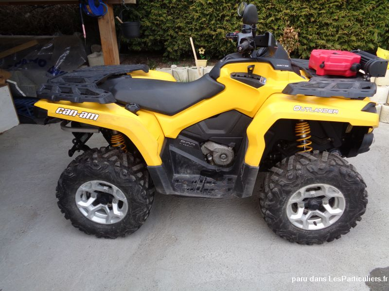 can am outlander 500 g2 vehicules motos haute-savoie