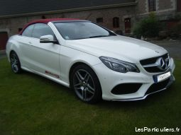 mercedes e cabriolet 220 cdi vehicules voitures nord