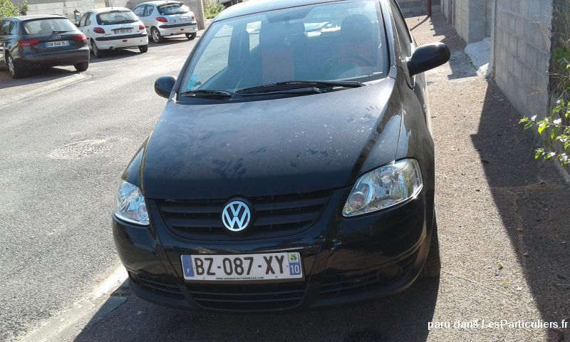voiture berline volkswagen fox vehicules voitures paris
