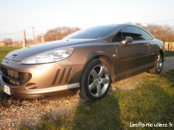 peugeot 407 coupé 2.7hdi v6 vehicules voitures isère