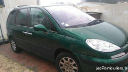 peugeot 807 2.2 hdi vehicules voitures charente-maritime