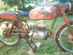 parilla 125 supersport de collection vehicules motos indre-et-loire