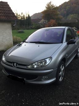 peugeot 206 sport 16e 16v finition griffe vehicules voitures doubs