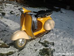 vespa solo 1953 vehicules scooters côte-d'or