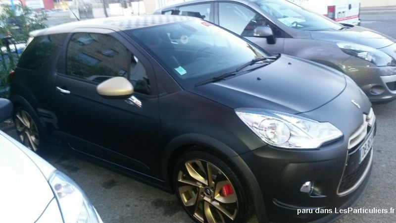 citroën ds3 racing gold mat vehicules voitures aveyron