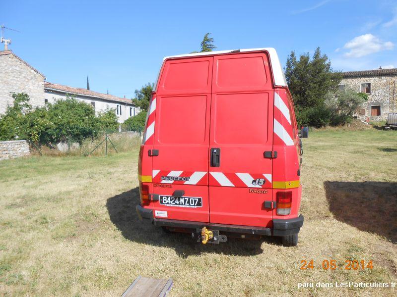 Peugeot j5 4x4 fourgon g volume vehicules gard - Covoiturage camion demenagement ...