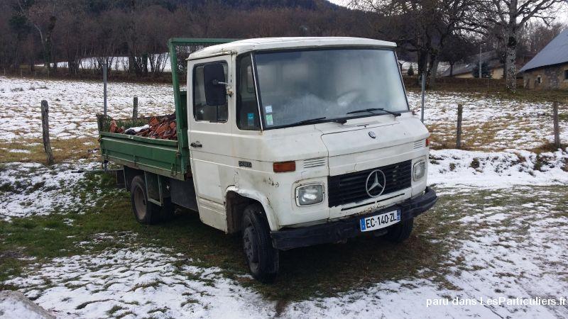 Camion benne mercedes 508 d 3 5t vehicules savoie - Covoiturage camion demenagement ...