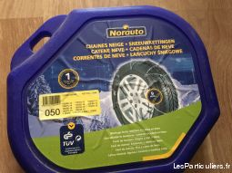 chaines neige marque norauto vehicules pieces detachees accessoires gironde