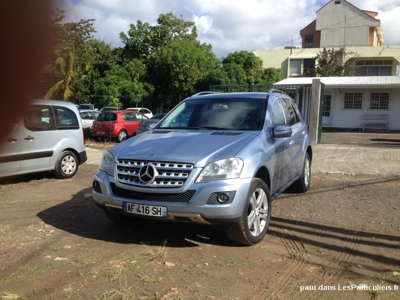 mercedes ml 4 matic 320 vehicules voitures guadeloupe