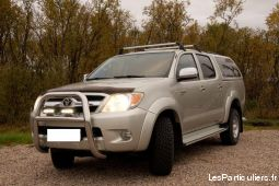 toyota hilux sr5 4x4 double cabine vehicules voitures hérault