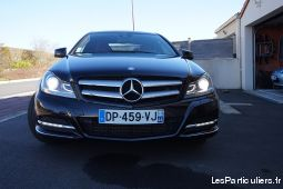 mercedes classe c 250 cdi coupe blue efficiency ex vehicules voitures maine-et-loire