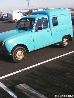renault  4l f4 vehicules voitures charente-maritime