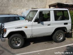 toyota lj70 vehicules voitures loire