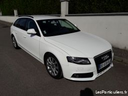 audi a4 blanche avant vehicules voitures moselle