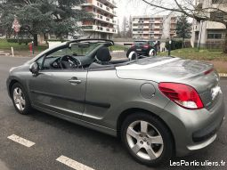 peugeot 207 cabriolet 61 000 kms vehicules voitures charente-maritime