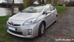 toyota prius 3 dynamic solar année 2010 vehicules voitures val-d'oise