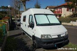 fourgon amenage peugeot boxer  vehicules caravanes camping car landes