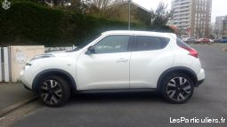 nissan juke couleur blanc lunaire 1,5 di vehicules voitures gironde