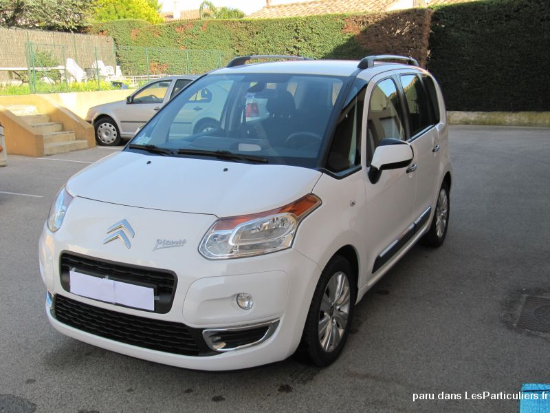 citroen c3 picasso 110 exclusive vehicules var. Black Bedroom Furniture Sets. Home Design Ideas