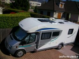 camping car chausson profilé ford transit flash 28 vehicules caravanes camping car isère