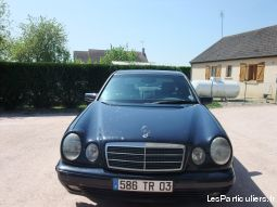mercedes e 220 vehicules voitures allier