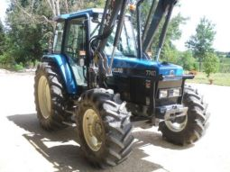 tracteur new holland 7740 sle vehicules materiel agricole jura
