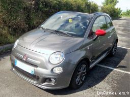 fiat 500 cabriolet 105s vehicules voitures marne
