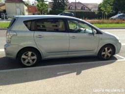 toyota corolla verso vehicules voitures aube