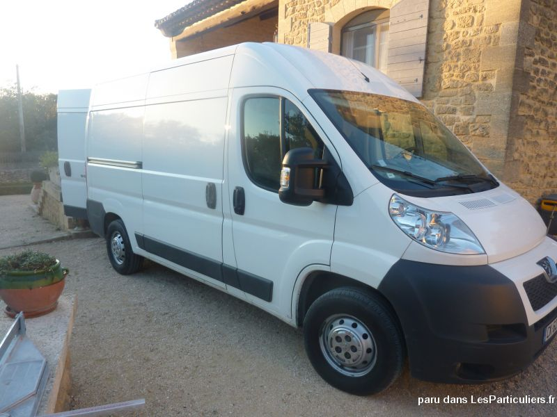fourgon peugeot boxer vehicules utilitaires gard