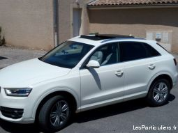 aud q3 2.0 tdi 177 ambition luxe quattro stronic 7 vehicules voitures hérault