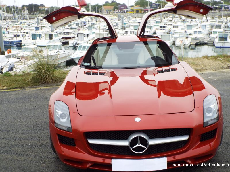 mercedes sls amg vehicules voitures charente-maritime