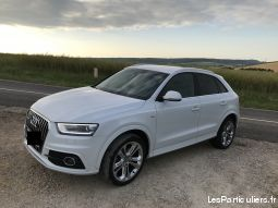 audi q3, 2.0 tdi 177 s-line stronic7 vehicules voitures meurthe-et-moselle