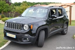 jeep renegade longitude 1.6 l multijet s&s 120 ch vehicules voitures vienne
