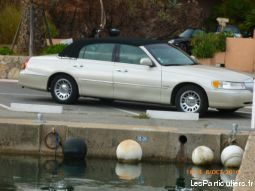 lincoln town car vehicules voitures alpes-maritimes