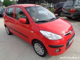 hyundai i10 (1. 2 pack color confort) rouge vehicules voitures haute-saône