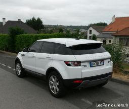 evoque cuir gps vehicules voitures somme