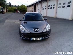 peugeot 206+ 1.4 hdi 70 ch trendy 5 portes vehicules voitures rhône