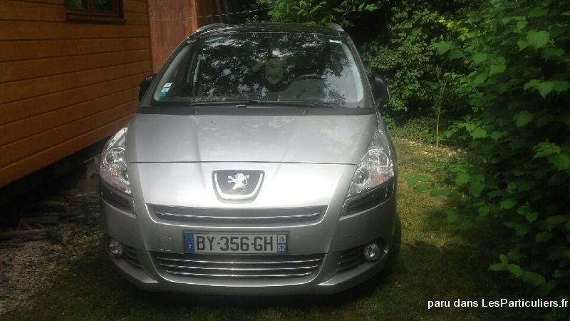 peugeot 5008 vehicules voitures haute-marne