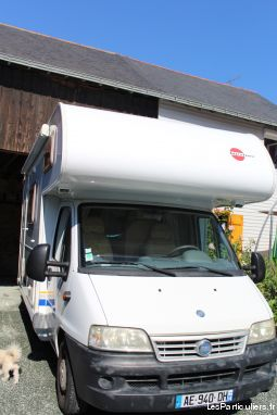 camping car burstner 532 active 2. 2. 8 jtd fiat  vehicules caravanes camping car loire-atlantique