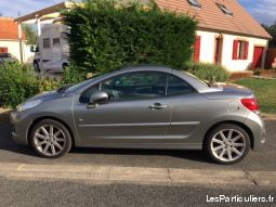 peugeot 207cc hdi roland garros cuir - 112 ch vehicules voitures calvados